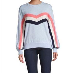 Spiritual Gangster Chevron Stripe Sweater